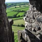 Careg Cennen Castle view from within.